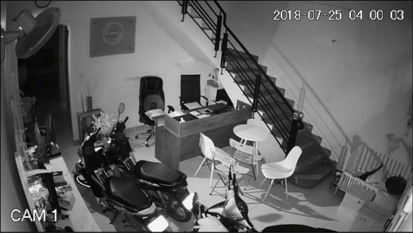 hình ảnh demo camera kbvision 2M trong nhà