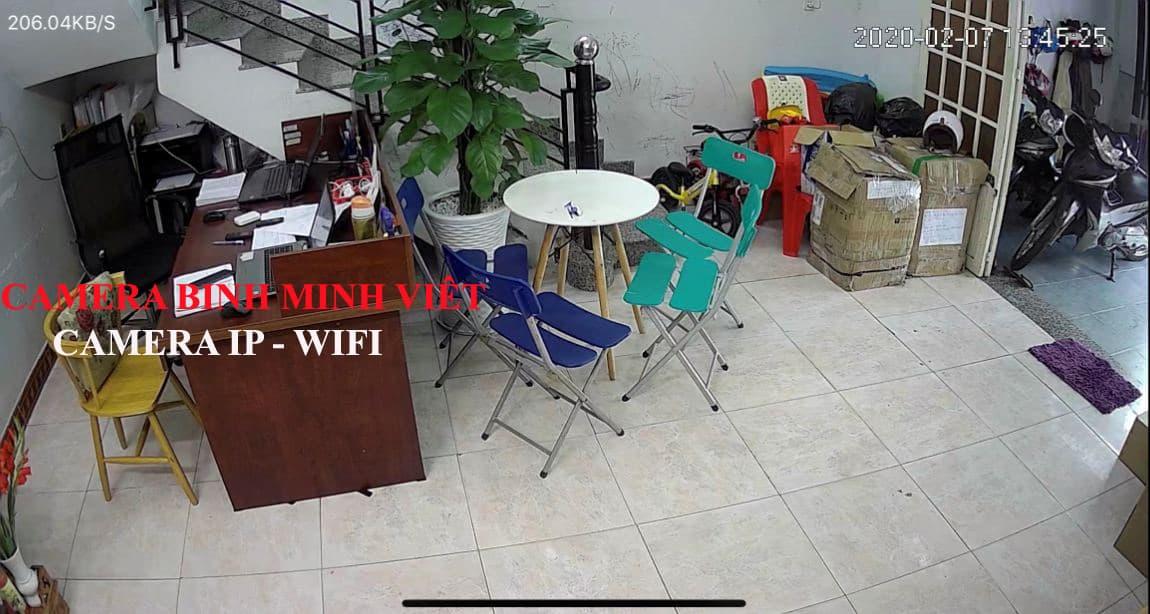 hình thực tế - cam IP wifi